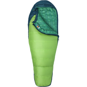 Marmot Trestles 30 Sacos de dormir Mujer, greenery/deep teal